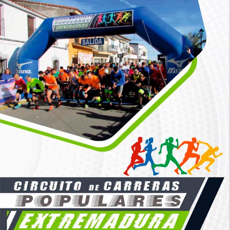 Circuito Carreras Populares por EXTREMADURA