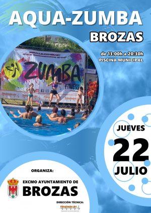 AQUA-ZUMBA BROZAS 22-07-2021