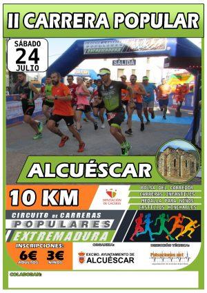 CARTEL Carrera Alcuescar 2021