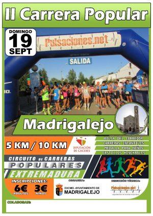 Carrera Popular MADRIGALEJO 2021