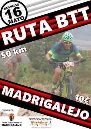 Cartel BTT Madrigalejo 2021