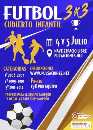 Cartel Fútbol 3x3