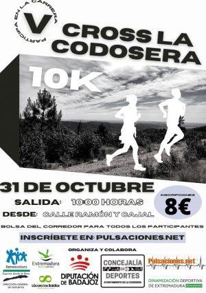 Cartel LA CODOSERA 2021 DGD