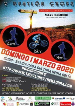 Duatlón Zarza de Granadilla 2020
